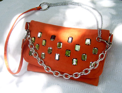 The Orange Crush by Fashionjenn Handbags